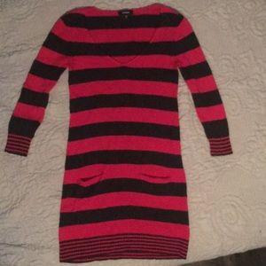 Express sweater dress.